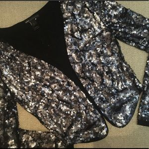 Mango Sequin Jacket